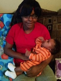 charity and baby