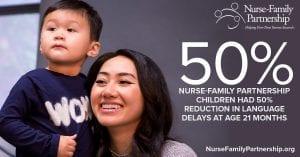 50% reduction in language delays